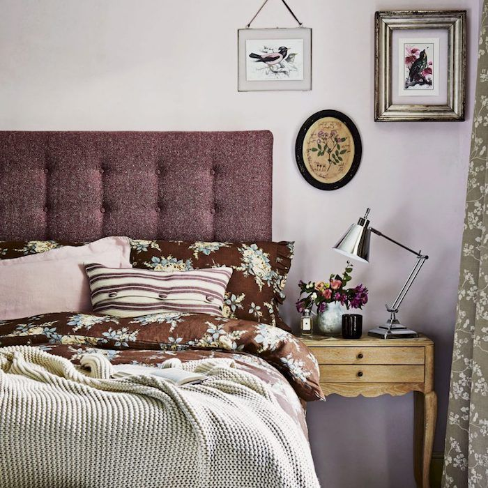 1659 best chambre coucher images on pinterest - Chambre adulte violet ...