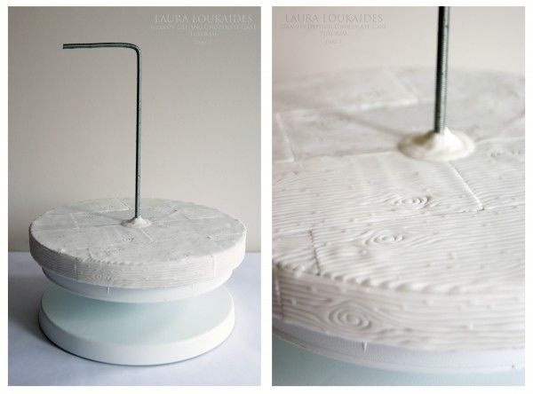 Gravity defying cake tutorial