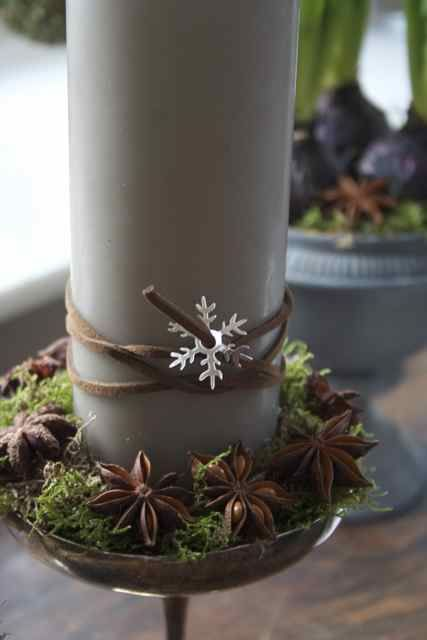 Very nice way of decorating a candle
