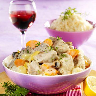 Découvrez la recette blanquette de veau sur cuisineactuelle.fr.