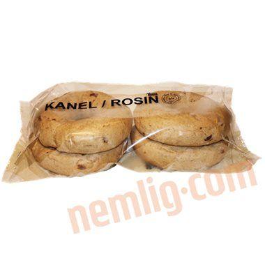 Bagels m. kanel og rosin