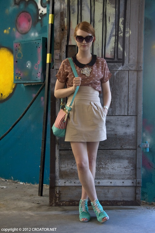 Doris  #streetstyle #stripes #zagreb #croatia #borosane