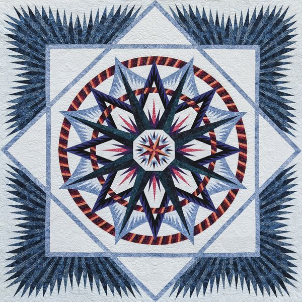 Quilting Patterns Mariner S Compass : Mariners Compass Mariner s Compass Pinterest