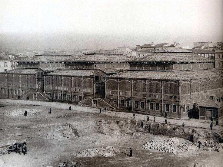 Mercado de los Mosquenses. 1925
