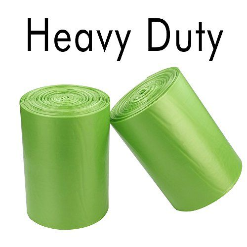 Kekow 18 Gallon Trash Compactor Bags, Thick, 100 Count