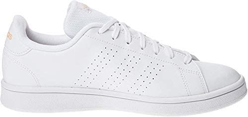 Adidas Advantage Base, Soccer Shoe Womens, Ftwbla/Rosbri ...