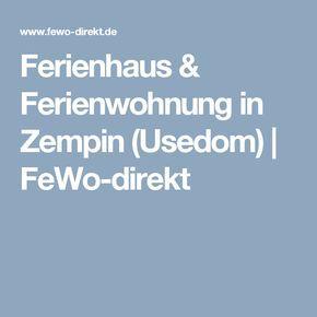 Ferienhaus & Ferienwohnung in Zempin (Usedom) | FeWo-direkt