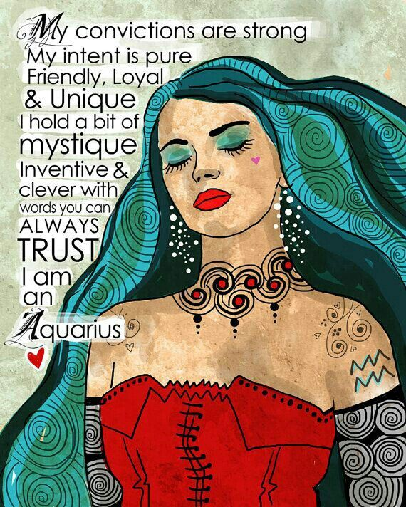 Love Always, From The Aquarius Woman.,♡IamSheSawtheSun♡