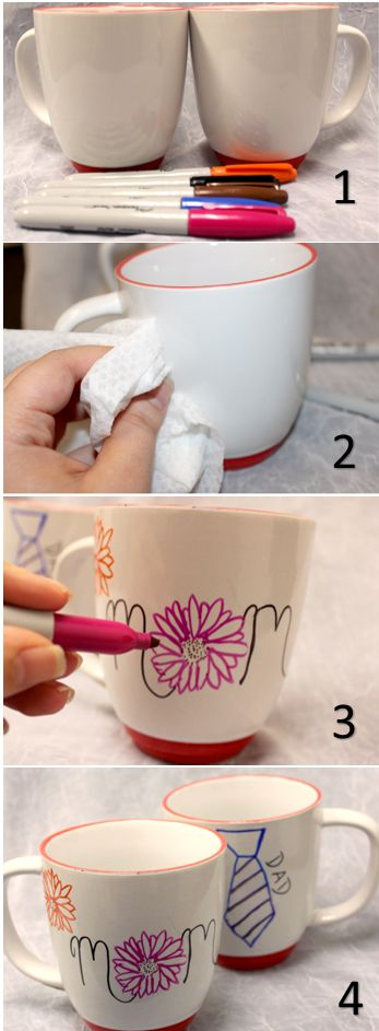 25 best ideas about Mug decorating on Pinterest Sharpie mug art