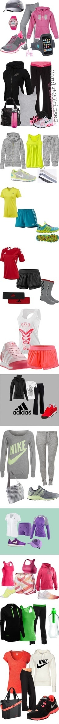 Athletic wear under $30! LOVE the blk n grn under armour!