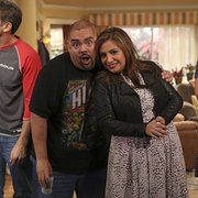 Carlos Ponce, Maria Canals-Barrera, Gabriel Iglesias, and Cristela Alonzo in Cristela (2014)