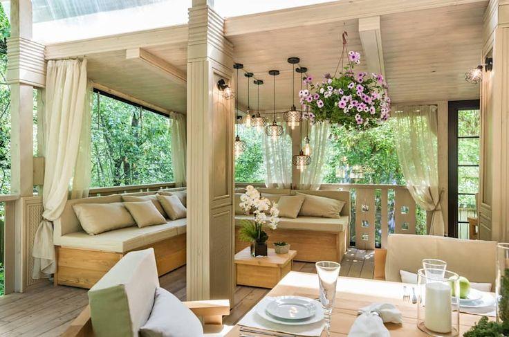 Como aquecer um espaço de exterior para o frio  #varanda #frio #outono #inverno #decoracao #blog #casa