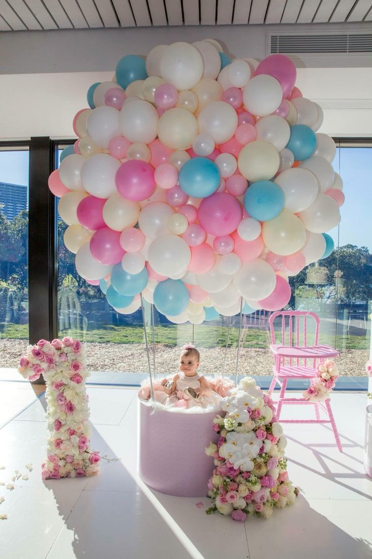 How Cute Is This For A 1st Birthday Baby Shower Party