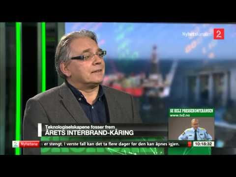I dette intervjuet med TV2 Nyhetskanalen kommenterer Morten Myrstad i The New Company Interbrand sin kåring over verdens mest verdifulle merkevarer.