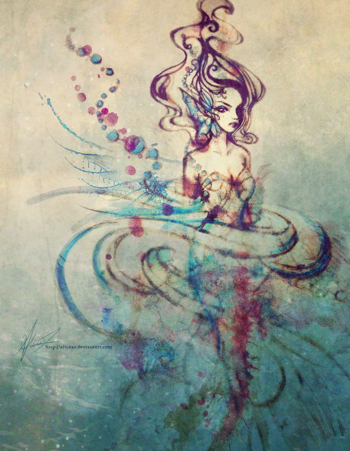 Ariel by alicexz.deviantart.com on @deviantART | This would make a cool tattoo! it would look so neat on my forearm