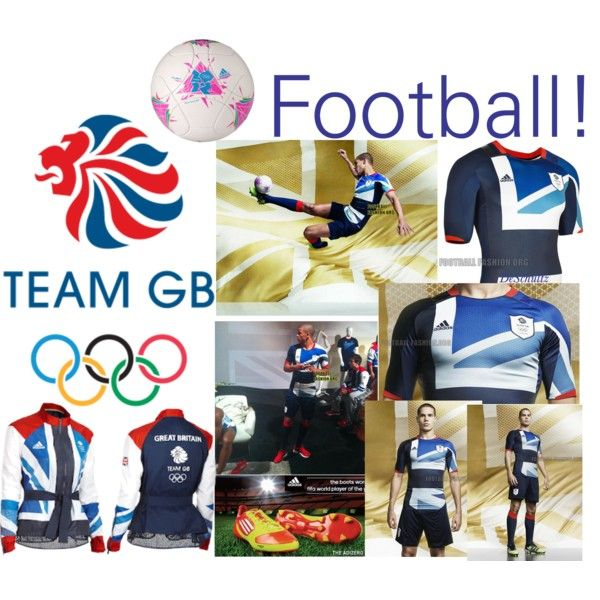 """Stella McCartney-Team GB Football"" by schultzde on Polyvore"