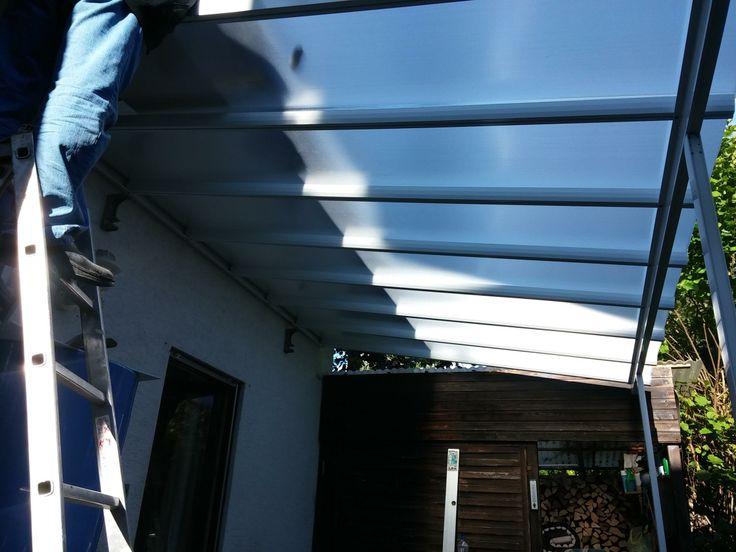 Good Montage Terrassendach u Carport Bausatz Typ A xmm WEISS