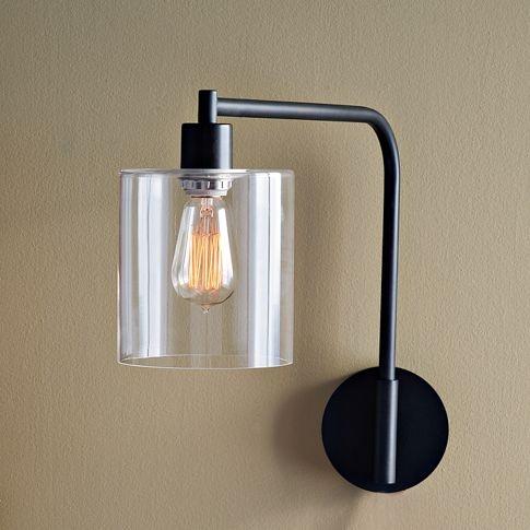 lens sconce west elm lighting pinterest floor mirrors we and thoughts. Black Bedroom Furniture Sets. Home Design Ideas