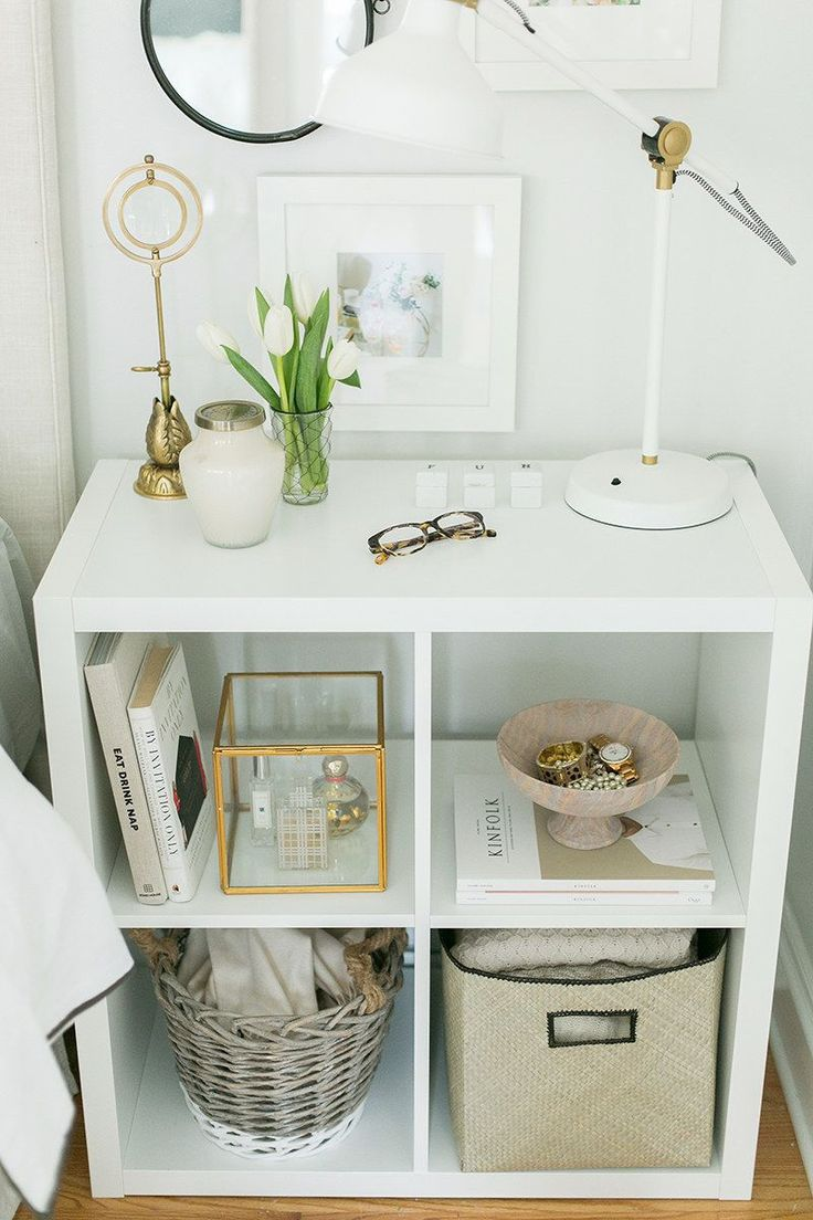 """Store everything under or in your <a href=""""http://go.redirectingat.com?id=74679X1524629&sref=https%3A%2F%2Fwww.buzzfeed.com%2Fcarolinekee%2Fleave-your-tude-at-the-door&url=http%3A%2F%2Fwww.ikea.com%2Fca%2Fen%2Fcatalog%2Fproducts%2F40219285%2F%3Fcid%3Dus%257Caf%257Cpinterest.com%257C40219285_20131210&xcust=4051560%7CAMP&xs=1"""" target=""""_blank"""">nightstand</a> — not on top of it."""