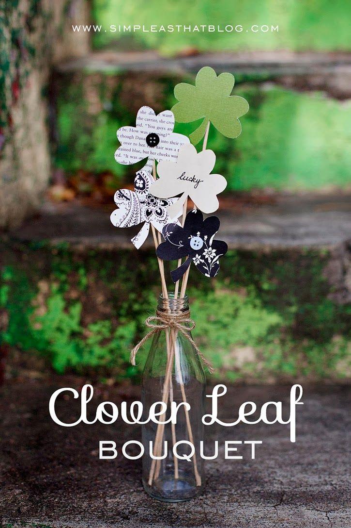 Simple Clover Leaf Bouquet - simple as that