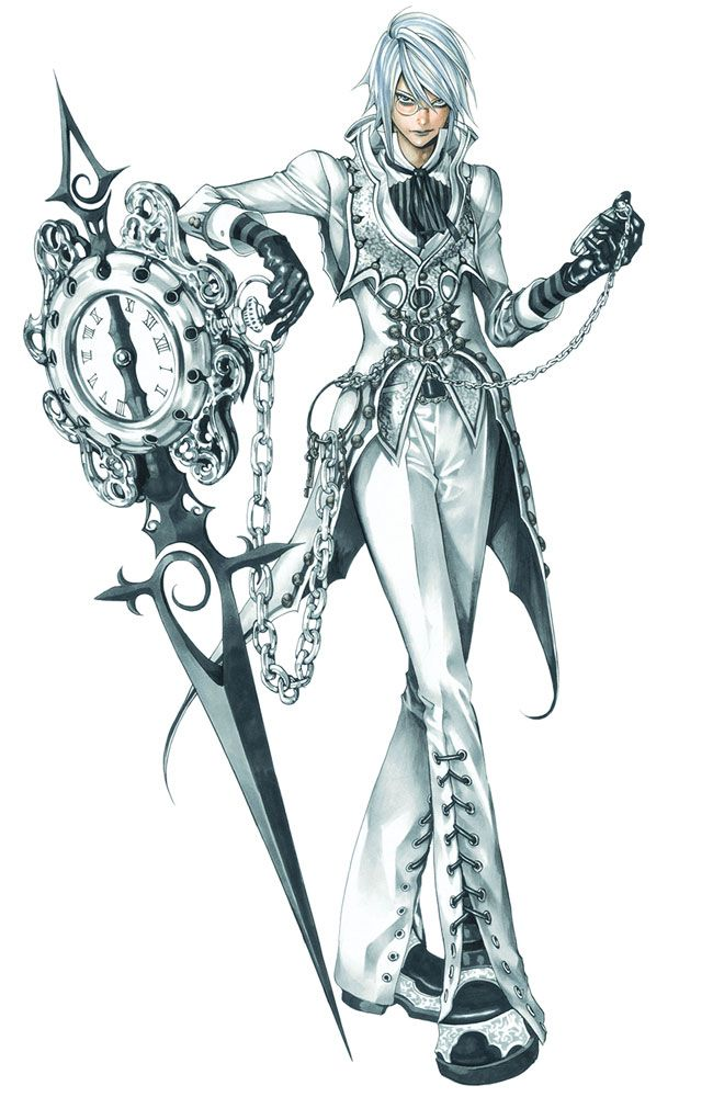 Aeon - Pictures & Characters Art - Castlevania Judgment