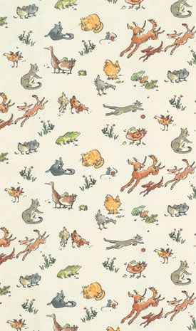 Quentin's Menagerie F6054-04 Designer Fabrics and Wallpapers by Sanderson, Harlequin, Morris, Osborne, Little And many more
