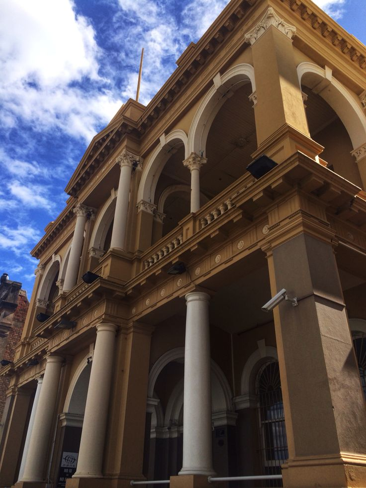 The Bank Nightclub - Flinders Street, Townsville Qld.  Love the old architecture & history these buildings have.