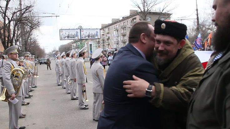 В Луганске отметили годовщину штурма СБУ. Река