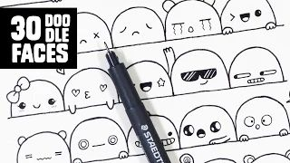 cute doodle art designs - YouTube