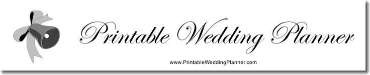 More than 45 wedding planning checklists, forms, and worksheets. Pages fit in any three-ring binder or standard notebook. Just print and start planning your wedding today!