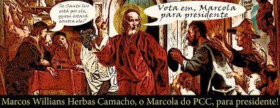 PRIMEIRO COMANDO DA CAPITAL ☯ PCC 1533 ☯ : As razões pelas quais o PCC nunca será vencido  Começou a corrida para ver quem vai ser o próximo presidente do Brasil — Santo Ivo apoia Marcola para presidente