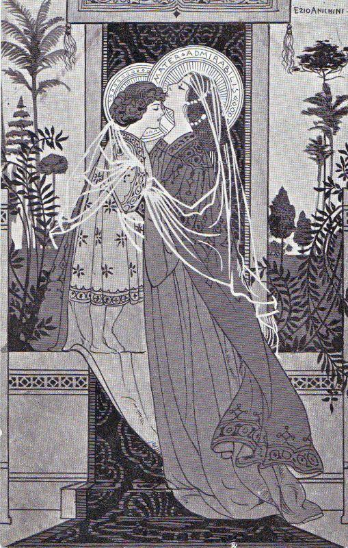 Ezio Anichini serie Immagini sacre