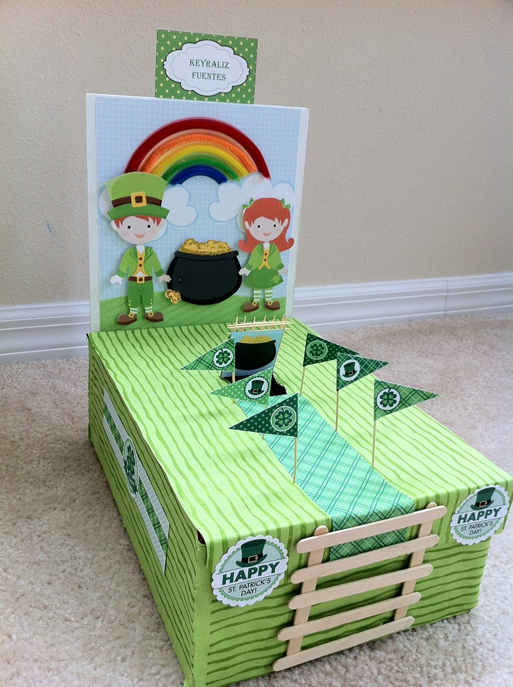 Leprechaun Trap That I Made With My Kindergarten Daughter