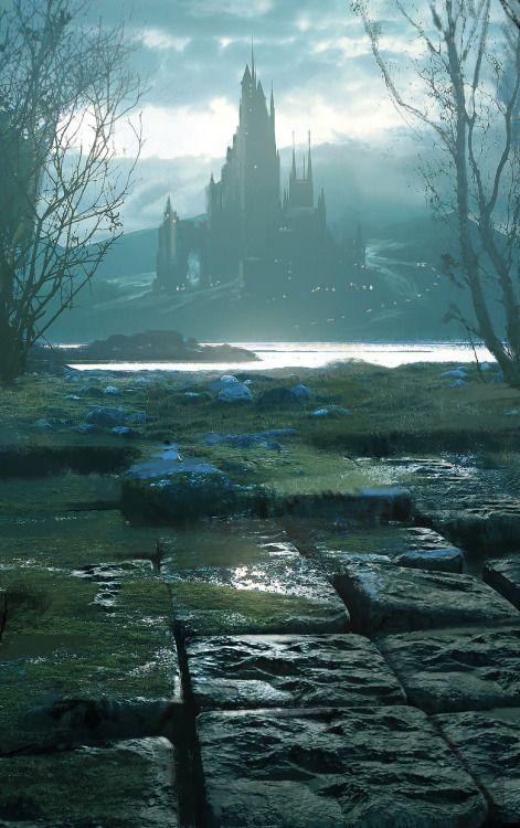 fantasyartwatch: Temple of Arcane Knowledge by Espen Olsen