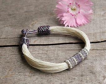 Joyería contemporánea pulsera Hippie Eco friendly por Naryajewelry