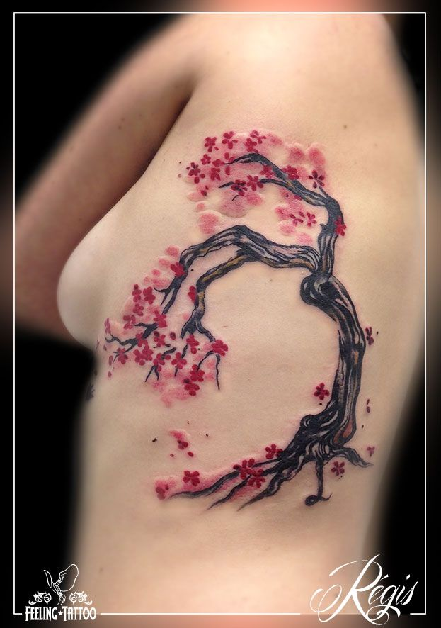 best 25+ tatouage cerisier ideas on pinterest | tatouage japonais