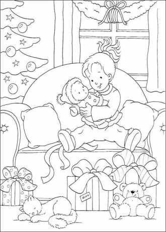 Картинки Новый год Дед Мороз скачать и распечатать для ...