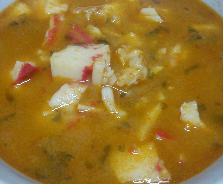 Receita Sopa de Peixe por alicehsilva - Categoria da receita Sopas