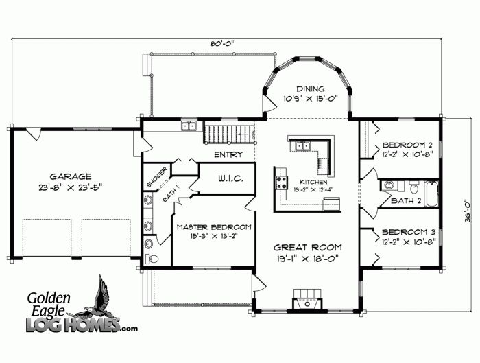 Blueprints for ranch style homes