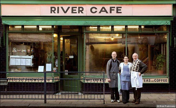 the original River Cafe! Putney Bridge.