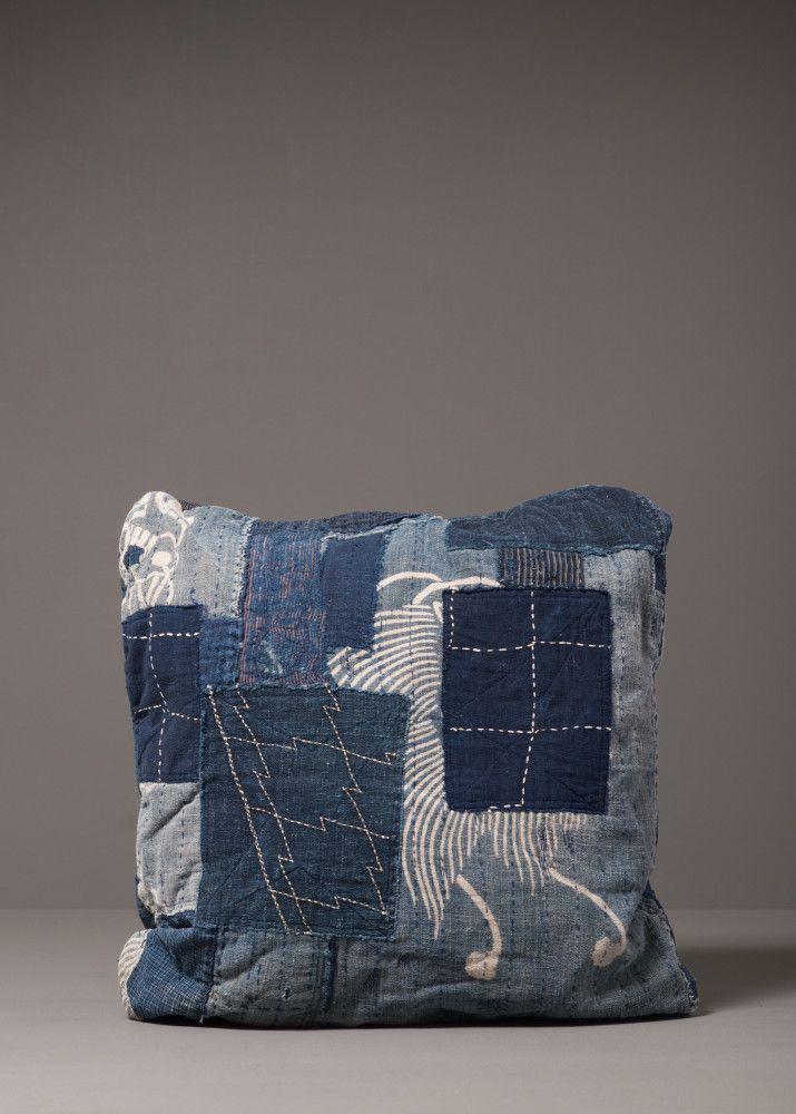 J. Augur Design indigo boro pillow, 2014. www.jaugurdesign.com
