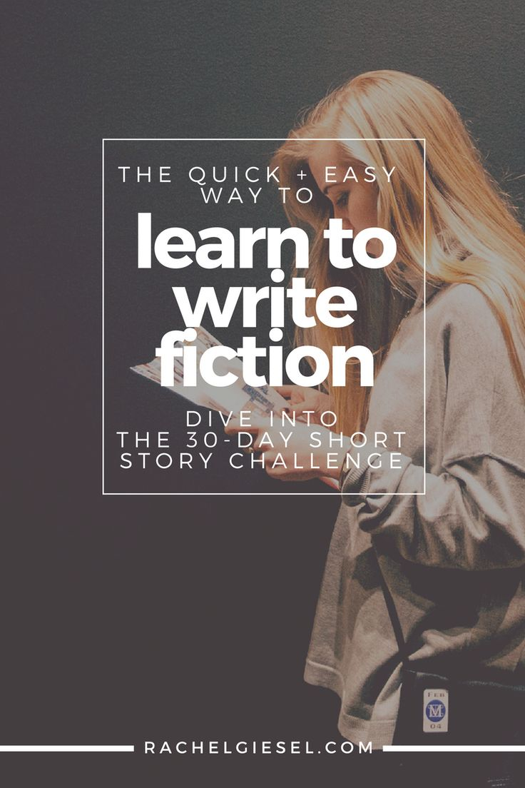 how to learn creative writing