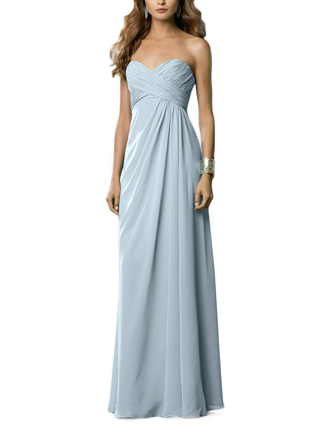 36 best Ashley\'s Dusty Blue Bridesmaid Dresses images on Pinterest ...