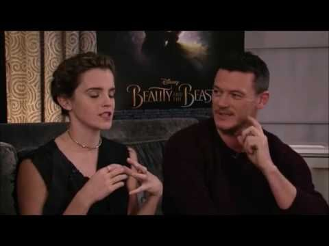 Beauty and the Beast cast live chat on Facebook - YouTube