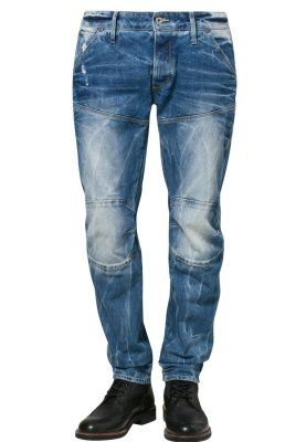 G-Star 5620 3D LOW TAPERED - Straight leg jeans - blå