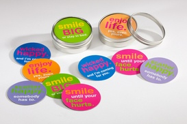 scatter happy tins! 10 cards, 5 magnets - perfect unique gift idea!  $18.99