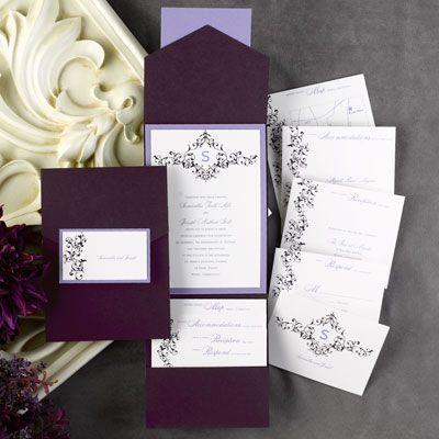 17 Best images about Pocket Wedding Invitations – Pocket Invitation Card