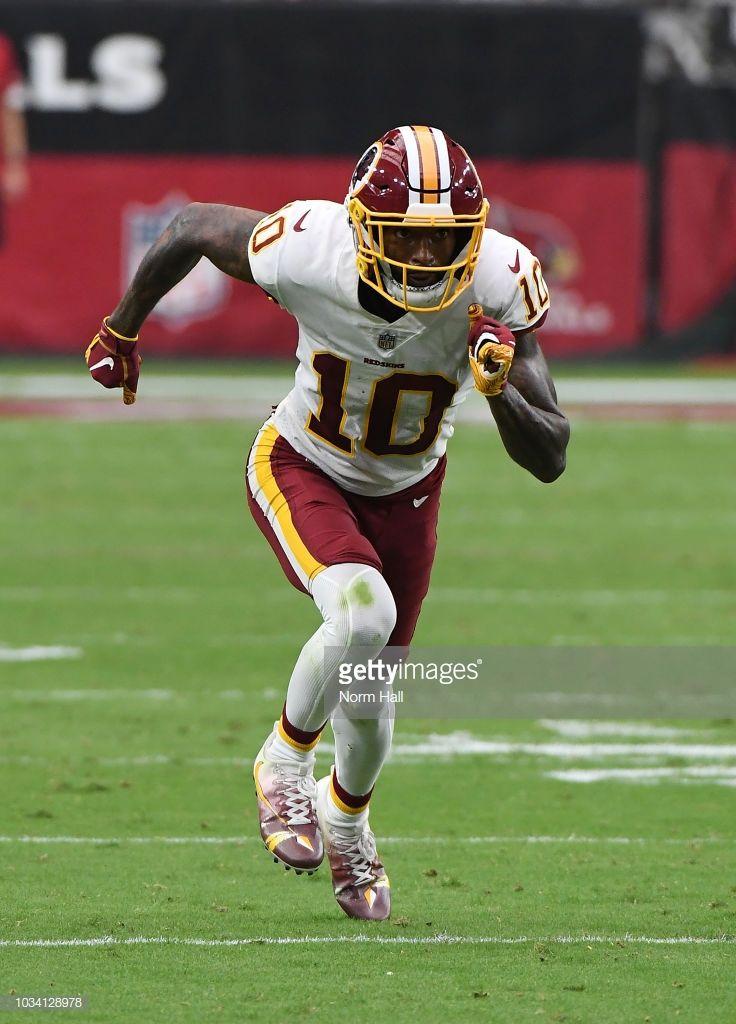 bab3c64e9 Paul Richardson Jr of the Washington Redskins runs up field against ...