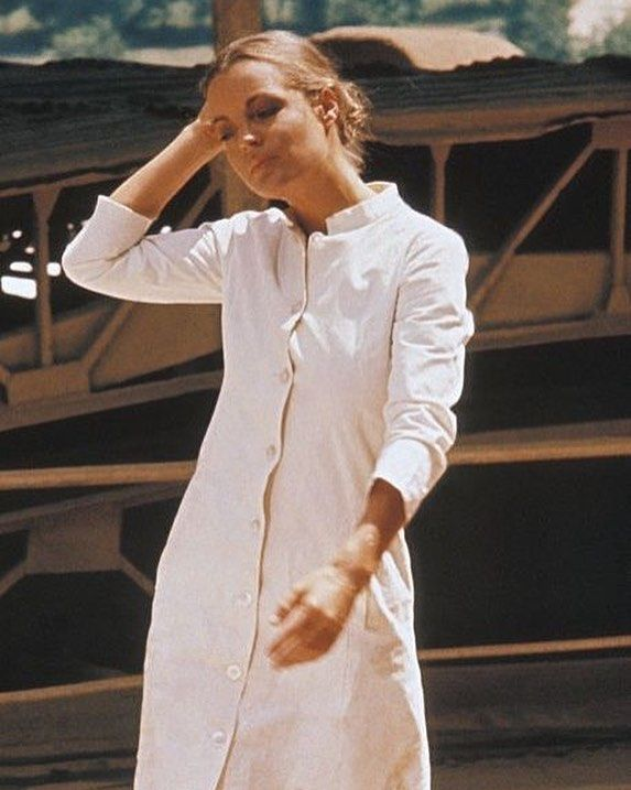 Summer White Dress Inspiratio Romy Schneider Romy Magda Schneider