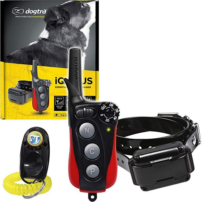 Dogtra Iq Plus Remote Training Collar 400 Yard Range Waterproof